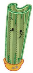 Baby Bites Applique Celery embroidery design