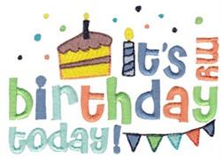 Birthday Boy Celebration embroidery design