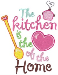 The Heart Of Home embroidery design