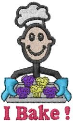 Baker Joe embroidery design