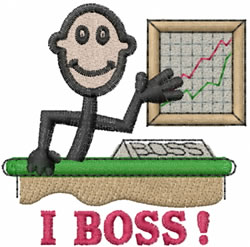 Boss Joe embroidery design
