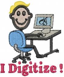 Digitizer Joe embroidery design