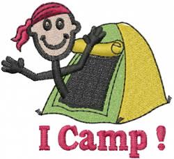 Camper Joe embroidery design