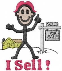 Salesman Joe embroidery design