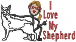 Shepherd Jane embroidery design