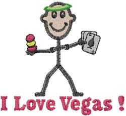 Vegas Joe embroidery design