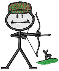 Deer Hunter embroidery design