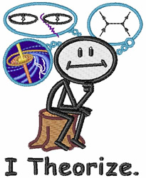 I Theorize embroidery design