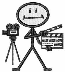 Movie Maker embroidery design