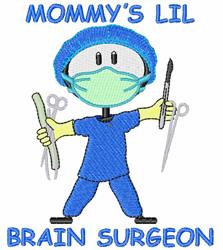 Brain Surgeon embroidery design