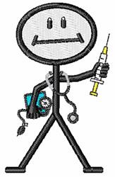 Nurses embroidery design