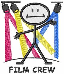 Film Crew embroidery design