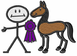 Horse Show embroidery design