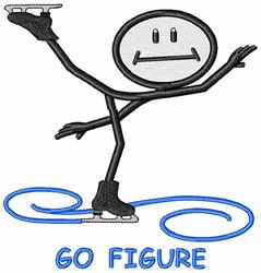 Go Figure embroidery design