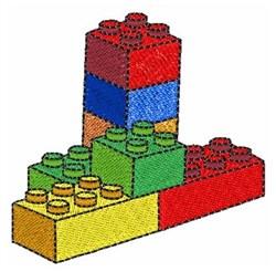 Legos embroidery design
