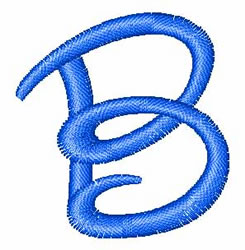 Disney Letter B embroidery design