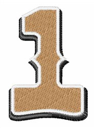 Saloon Number 1 embroidery design