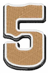 Saloon Number 5 embroidery design