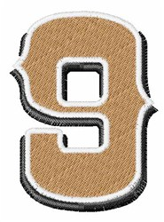 Saloon Number 9 embroidery design