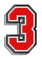 Athletic Shadow 3 embroidery design