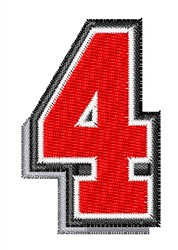 Athletic Shadow 4 embroidery design