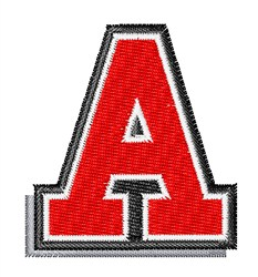 Athletic Shadow A embroidery design