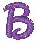 Disney Small B embroidery design