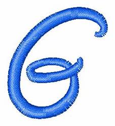 Disney Letter G embroidery design