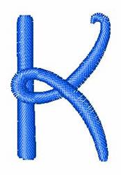 Disney Letter K embroidery design