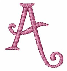 Fruity Font A embroidery design
