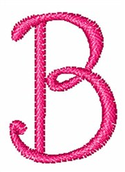 Fruity Font B embroidery design