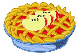 Baked Apple Pie embroidery design