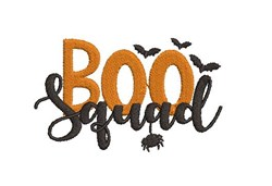 Boo Squad embroidery design