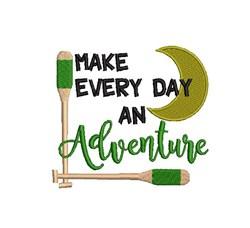 Make Adventure embroidery design