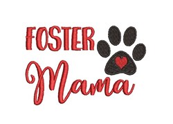 Foster Mama embroidery design