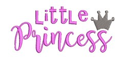 Little Princess embroidery design