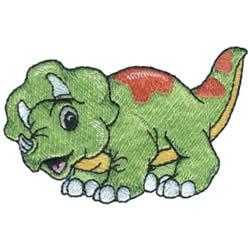 Dinosaur embroidery design