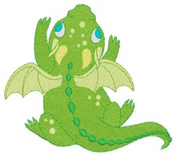 Baby Dragon embroidery design