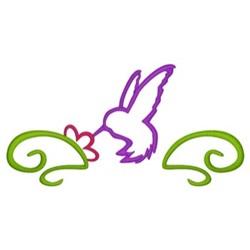 Hummingbird Border embroidery design