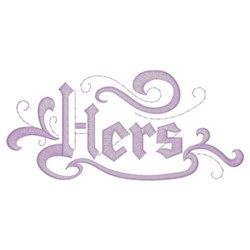 Hers Border embroidery design