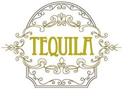 Tequila embroidery design