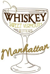 Manhattan embroidery design