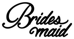 Bridesmaid embroidery design