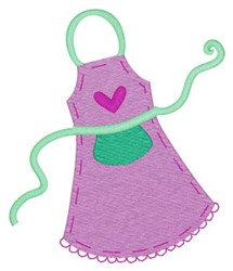 Apron embroidery design