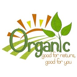 Organic Foods embroidery design