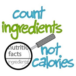Count Ingredients embroidery design