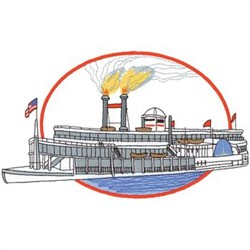steam boat designs for embroidery machines embroiderydesigns com