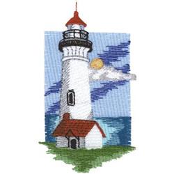 Yaquina Head embroidery design