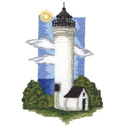 Tibbets Point embroidery design