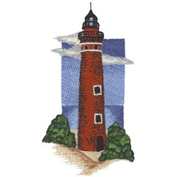 Little Sable Tower embroidery design